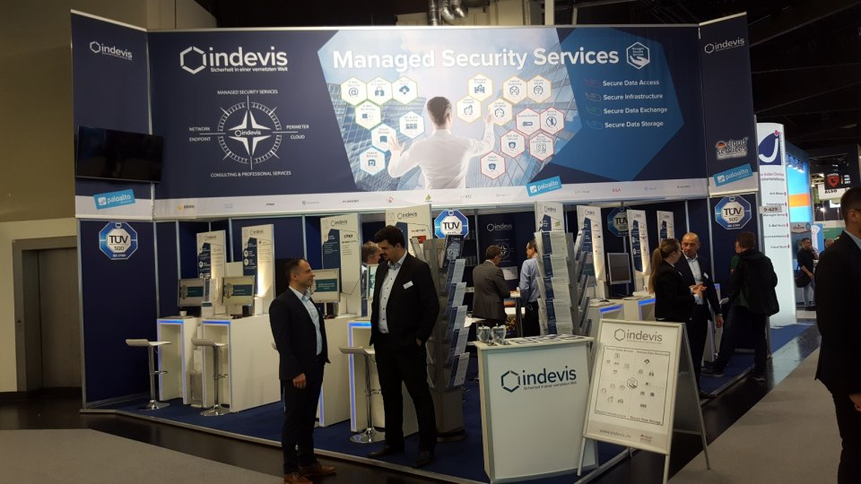 indevis Messestand it-sa 2019